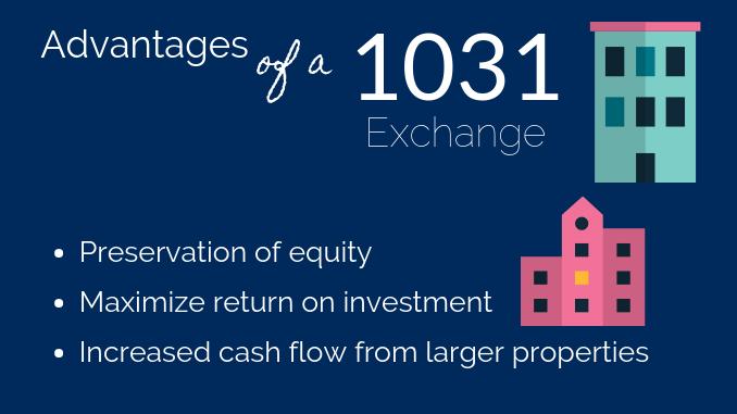 1031 Exchange Advantages
