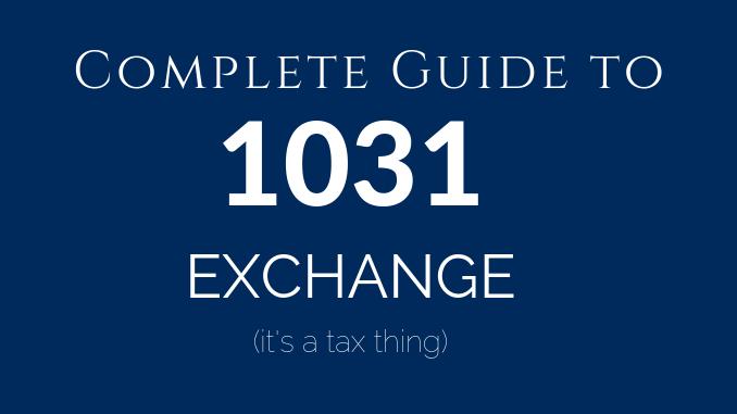 1031 Exchange Washington DC