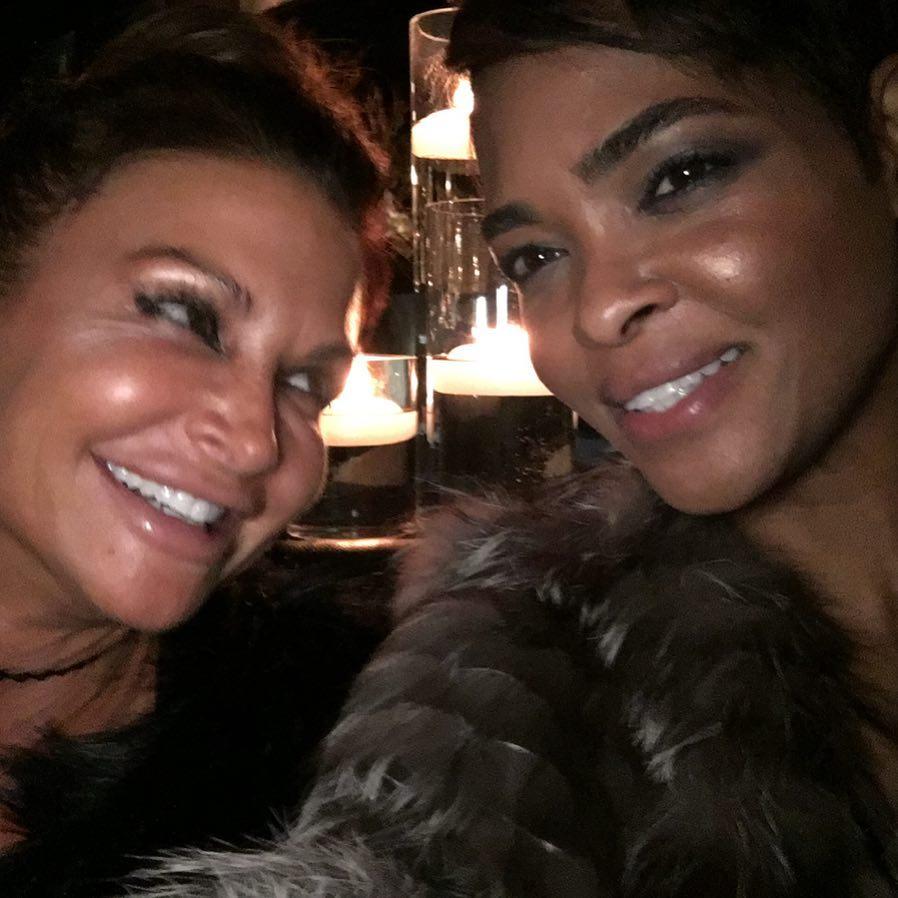 Instagram: Gina, Dana— Ronke's wedding ? ? #haveyouheard #weddingreception #atlanta #dclife #marriedtomedicine ??