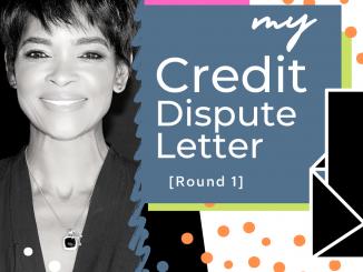 basic credit dispute letter