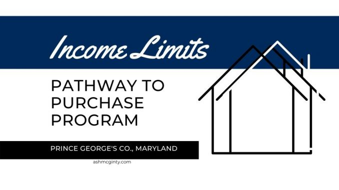 Pathway To Purchase Program Income Limits